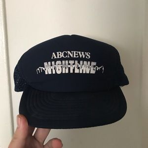 Vintage 90s ABC Nightline hat